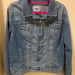 Women's Old Navy Jean jacket with stretch